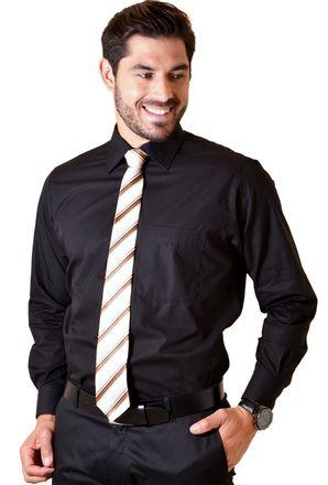Camisa-social-masculina-tradicional-algodao-fio-40-preto-f09932a-1