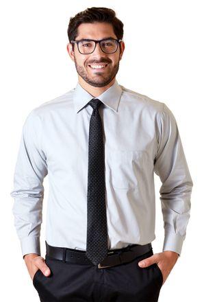 Camisa-social-masculina-tradicional-algodao-fio-40-cinza-f09932a-1