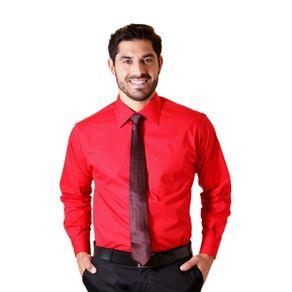 Camisa-social-masculina-tradicional-algodao-fio-40-vermelho-f09932a-1