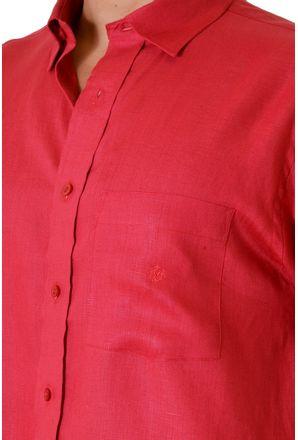 Camisa-casual-masculina-tradicional-linho-vermelho-f03943a-3
