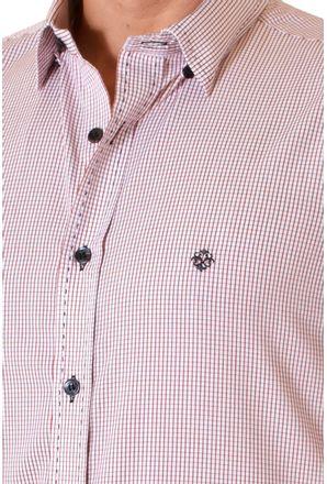 Camisa-casual-masculina-slim-algodao-fio-60-vermelho-f01348s-3