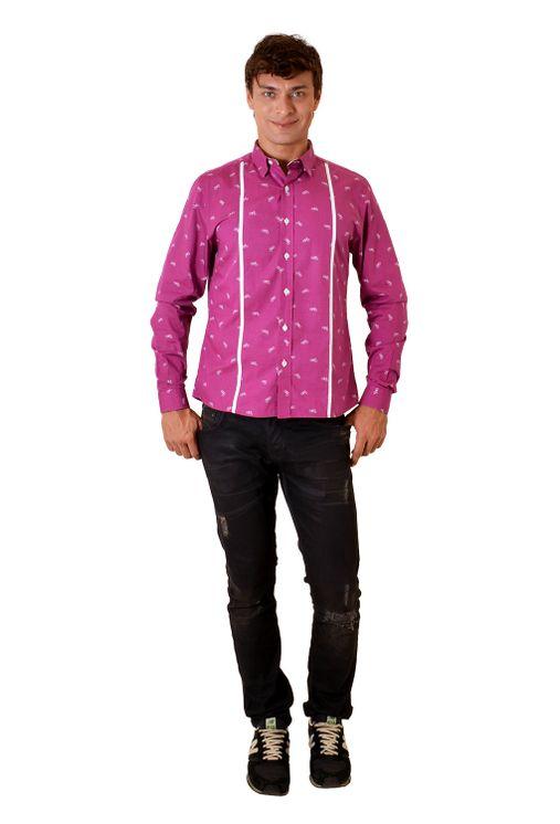 Camisa-casual-masculina-slim-algodao-fio-60-roxo-f01612s-4