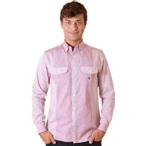 Camisa-casual-masculina-slim-algodao-fio-80-vermelho-f00793s-1