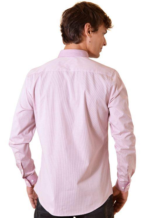 Camisa-casual-masculina-slim-algodao-fio-80-vermelho-f00793s-2