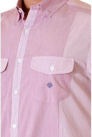 Camisa-casual-masculina-slim-algodao-fio-80-vermelho-f00793s-3