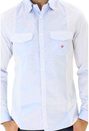 Camisa-casual-masculina-slim-algodao-fio-80-azul-f00793s-3