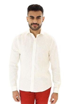 Camisa-casual-masculina-slim-linho-creme-f05815s-1