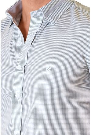 Camisa-casual-masculina-slimfit-algodao-fio-60-verde-f01398f-3