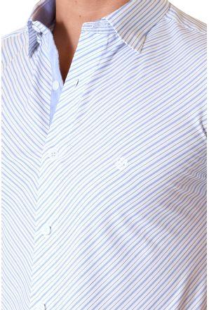 Camisa-casual-masculina-slimfit-algodao-fio-60-azul-f01399f-3