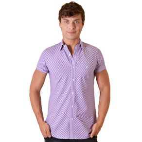 Camisa-casual-masculina-slimfit-algodao-fio-60-pink-f01431f-1