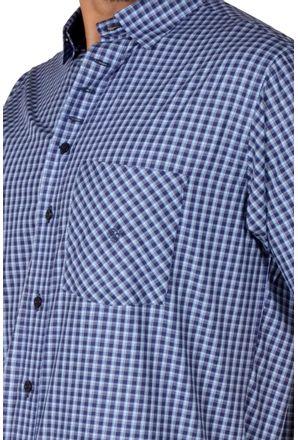 Camisa-casual-masculina-tradicional-algodao-fio-50-azul-f01380a-3