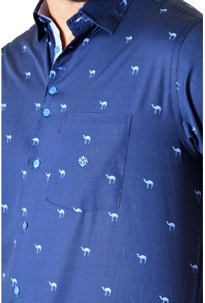 Camisa-casual-masculina-tradicional-algodao-fio-60-azul-escuro-f01345a-3