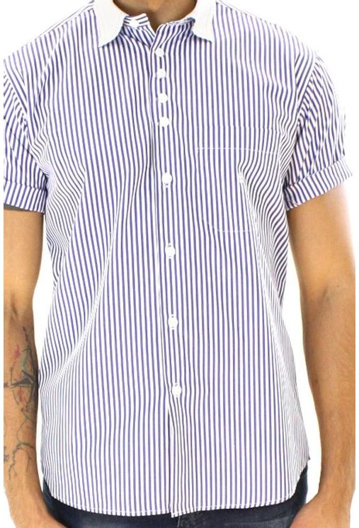 Camisa-casual-masculina-tradicional-algodao-fio-80-azul-f01270a-1