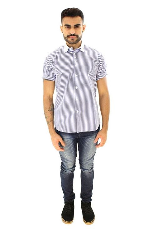Camisa-casual-masculina-tradicional-algodao-fio-80-azul-f01270a-4