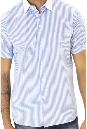 Camisa-casual-masculina-tradicional-algodao-fio-80-azul-claro-f01270a-3