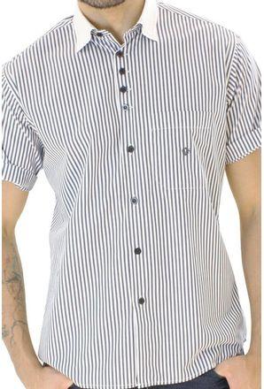 Camisa-casual-masculina-tradicional-algodao-fio-80-azul-escuro-f01270a-3