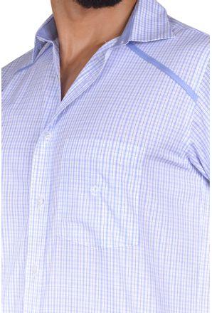 Camisa-casual-masculina-tradicional-algodao-fio-60-azul-claro-f01449a-3