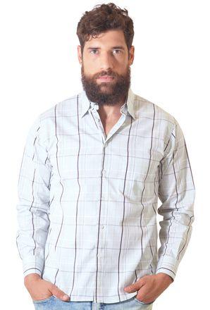 Camisa-casual-masculina-tradicional-algodao-fio-50-branco-f01506a-1