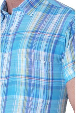Camisa-casual-masculina-tradicional-algodao-fio-40-azul-f05527a-3