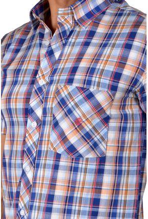 Camisa-casual-masculina-slim-algodao-fio-40-azul-f01357s-3
