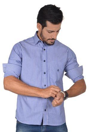 Camisa-casual-masculina-tradicional-algodao-fio-50-azul-f01397a-1