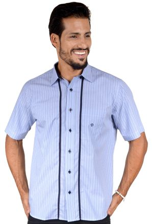 Camisa-casual-masculina-tradicional-algodao-fio-50-azul-f01197a-1
