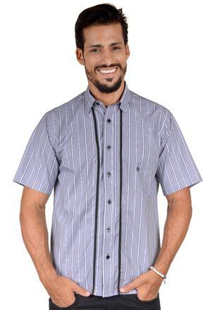 Camisa-casual-masculina-tradicional-algodao-fio-50-cinza-f01197a-1