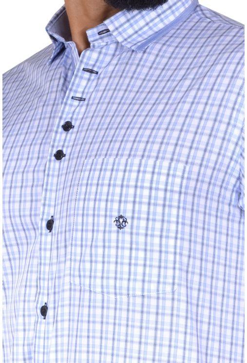 Camisa-casual-masculina-tradicional-algodao-fio-60-azul-f01452a-1
