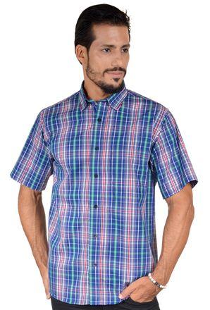 Camisa-casual-masculina-tradicional-algodao-fio-50-azul-f04337a-1