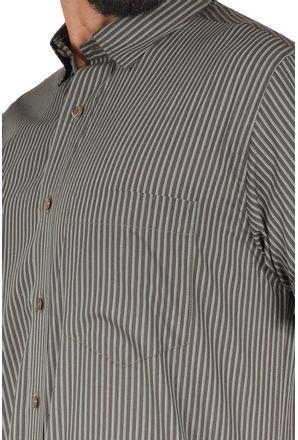 Camisa-casual-masculina-tradicional-algodao-fio-50-verde-escuro-f05198a-3