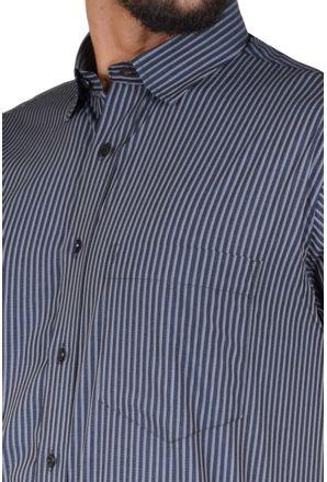 Camisa-casual-masculina-tradicional-algodao-fio-50-preto-f05198a-3