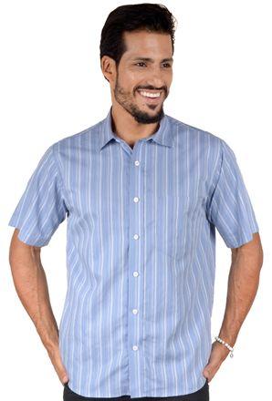 Camisa-casual-masculina-tradicional-algodao-fio-50-azul-f05199a-1