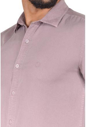 Camisa-casual-masculina-slim-tencel-marrom-r06020s-3