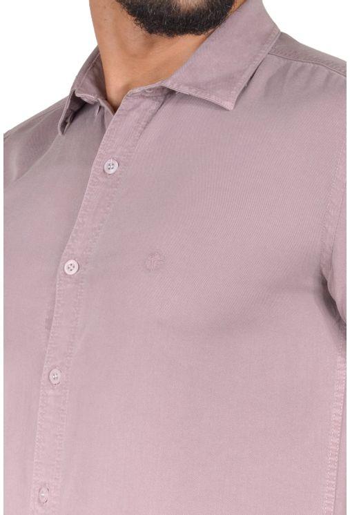 Camisa-casual-masculina-slim-tencel-marrom-r06020s-1