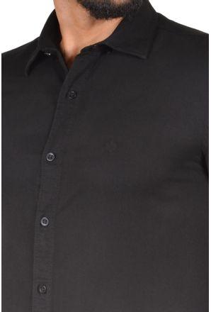 Camisa-casual-masculina-slim-tencel-preto-r06020s-3