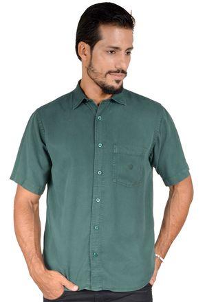 Camisa-casual-masculina-tradicional-tencel-verde-escuro-r06020a-1