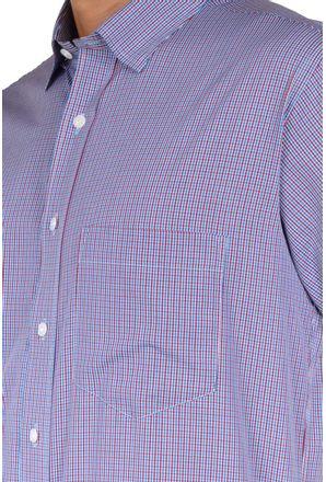 Camisa-casual-masculina-tradicional-algodao-fio-50-vermelho-f04387a-3