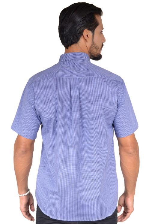 Camisa-casual-masculina-tradicional-algodao-fio-50-azul-escuro-f04387a-1