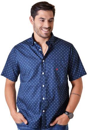 Camisa-casual-masculina-tradicional-algodao-fio-60-azul-escuro-f01783a-1