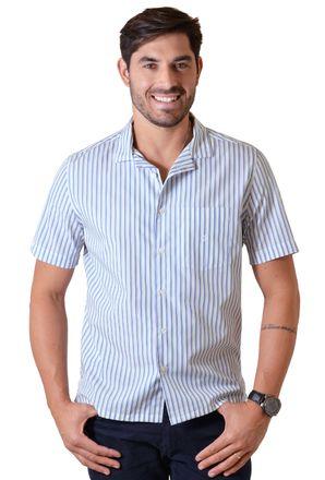 Camisa-casual-masculina-tradicional-algodao-fio-60-verde-f01506a-1