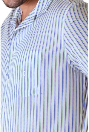 Camisa-casual-masculina-tradicional-algodao-fio-60-verde-f01506a-3