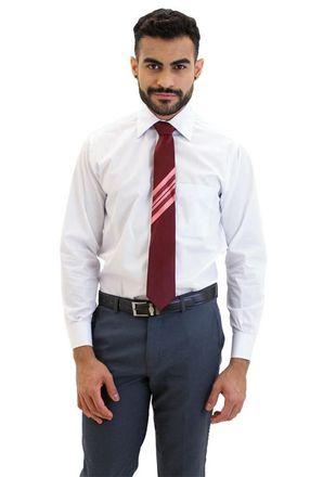 Camisa-social-masculina-tradicional-algodao-fio-80-branco-f09938a-frente