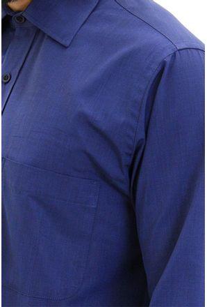 Camisa-social-masculina-tradicional-algodao-fio-100-azul-escuro-f09939a-detalhe1