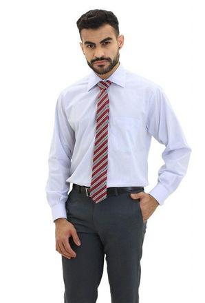 Camisa-social-masculina-tradicional-algodao-fio-40-azul-medio-f09932a-frente