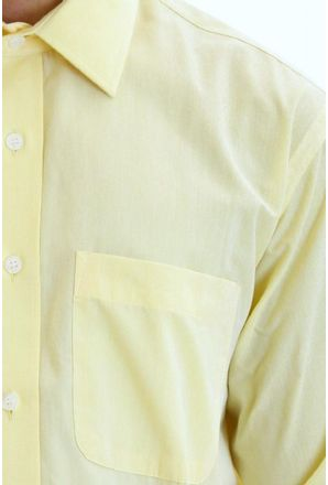 Camisa-social-masculina-tradicional-algodao-fio-40-creme-f09932a-detalhe1