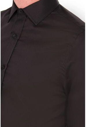 Camisa-social-masculina-slim-algodao-fio-80-preto-f05424s-detalhe1