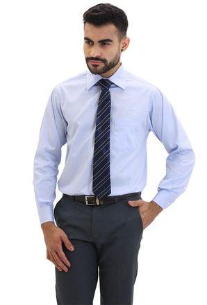 Camisa-social-masculina-tradicional-algodao-fio-80-azul-claro-f09938a-frente