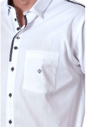 Camisa-casual-masculina-tradicional-algodao-fio-50-azul-escuro-f01315a-detalhe1