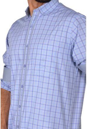 Camisa-casual-masculina-tradicional-algodao-fio-50-azul-f01412a-detalhe1