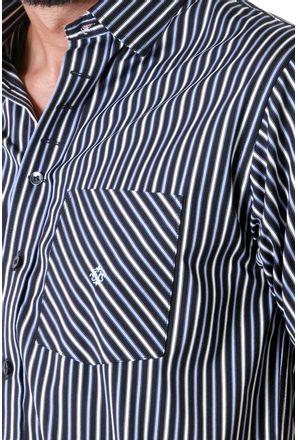 Camisa-casual-masculina-tradicional-algodao-fio-80-preto-f01421a-detalhe1